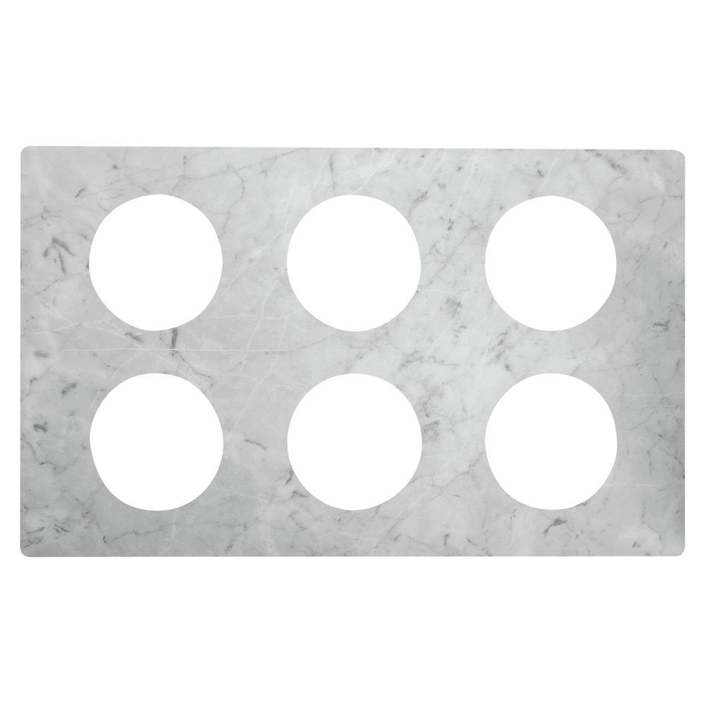 TILE, MELAMINE, FOR 6 BAIN MARIES, MARBLE