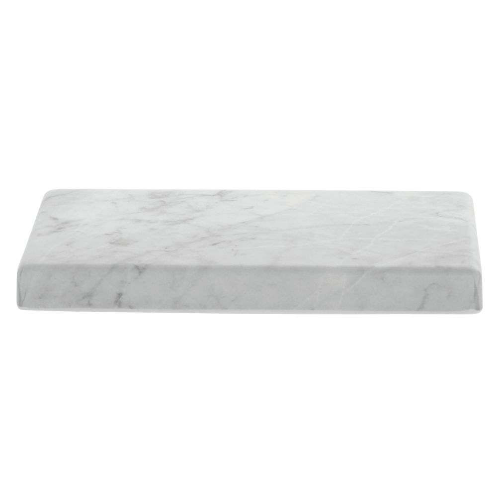 Display Riser Rectangular Concrete Look Grey 10 L x 6 W x 1 H
