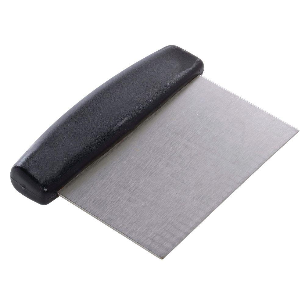 Hubert® Dough Scraper with Black Handle