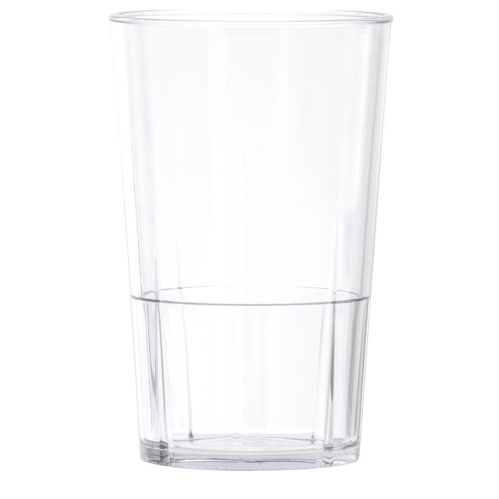 ab43ca0e858 Cambro® Lido™ 9 oz Clear SAN Plastic Tumbler
