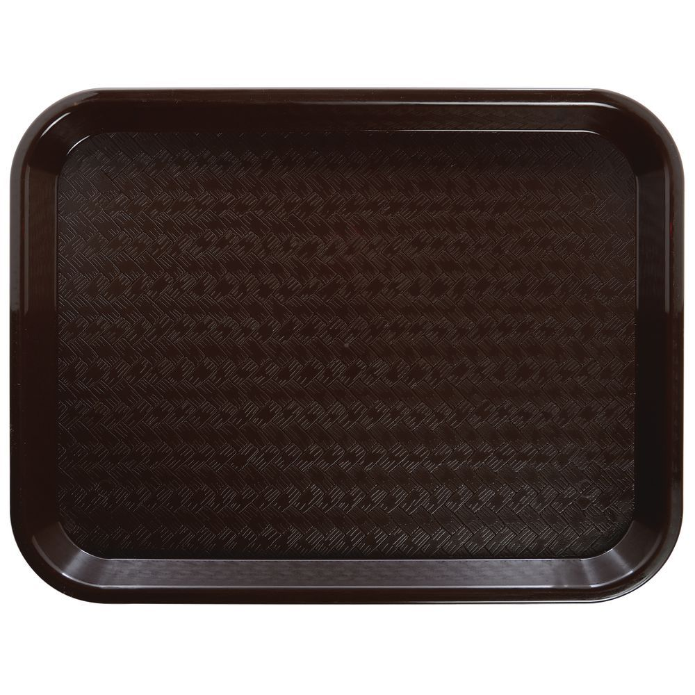 "TRAY, CAFE, 12X16"", BROWN, HUBERT BRAND"