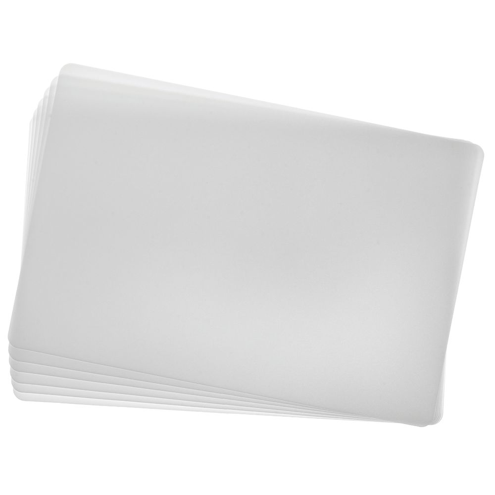 BOARD, CUTTING, 18X12 WHITE, DISPOSABLE 6/S