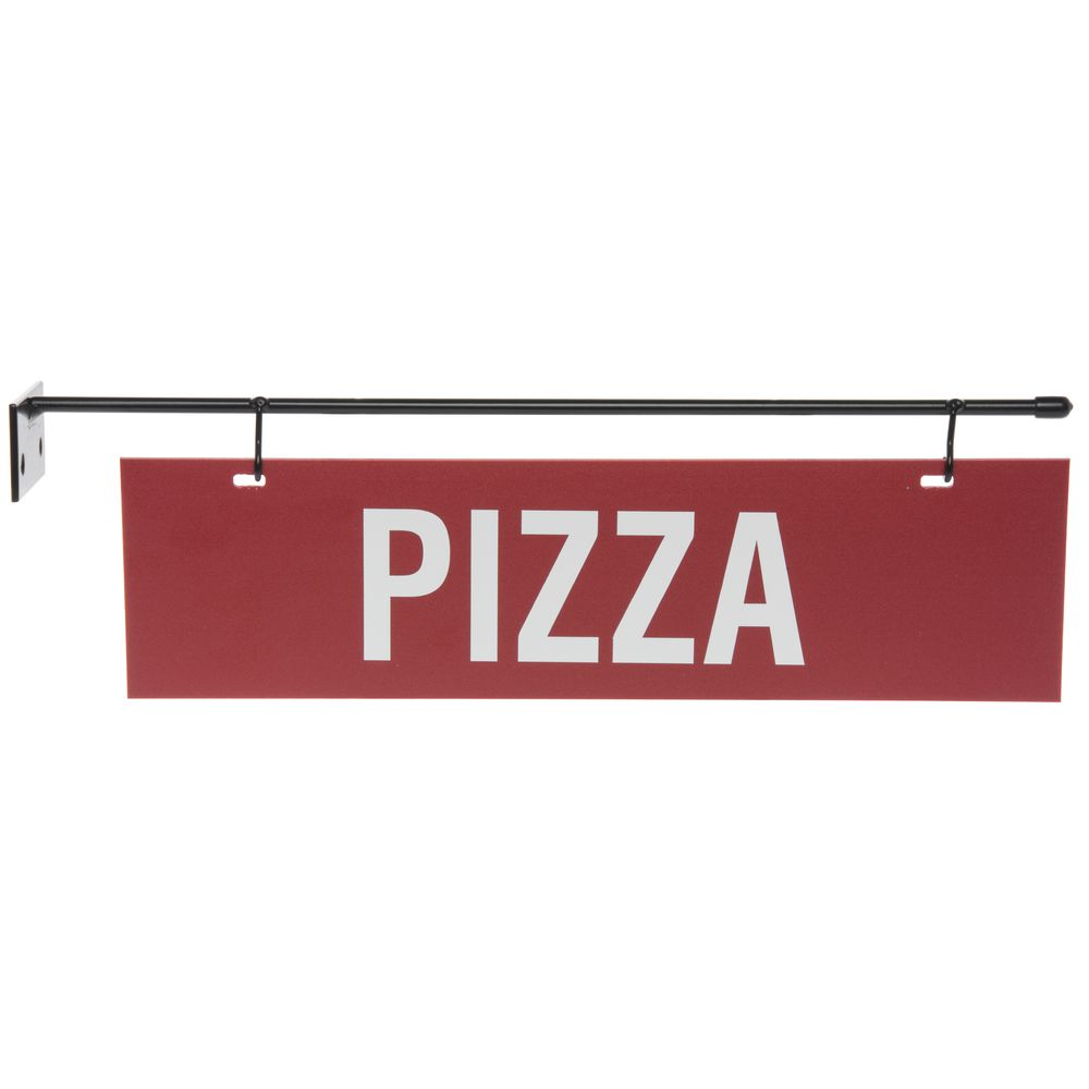HANGER, STRAIGHT STYLE, PANEL RED