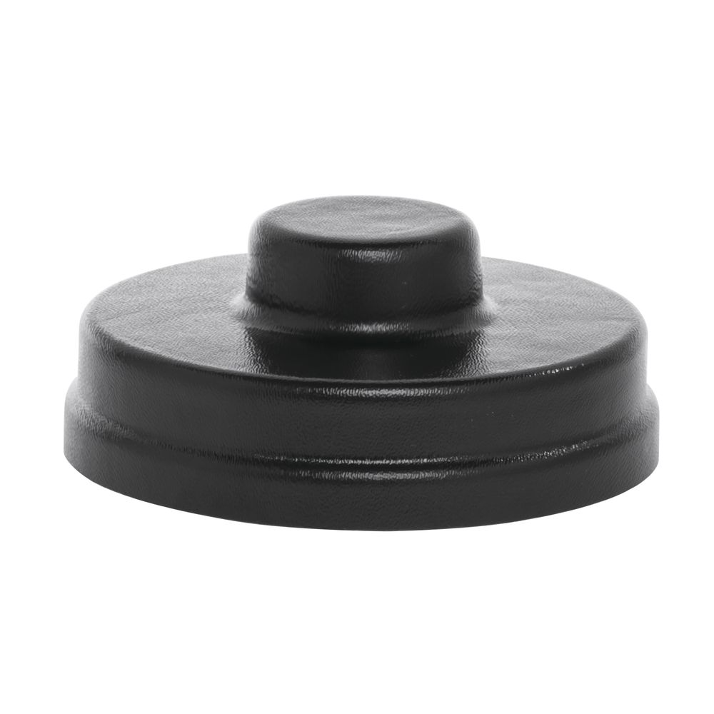 LID FOR S/S JAR, BLACK PLASTIC