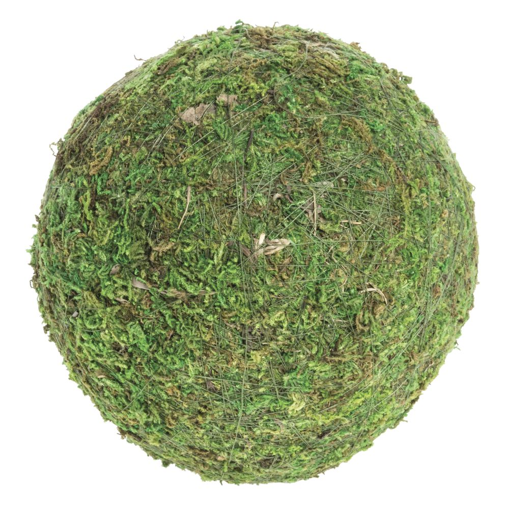 """BALL, MOSS, GREEN, 6""""DIA"""