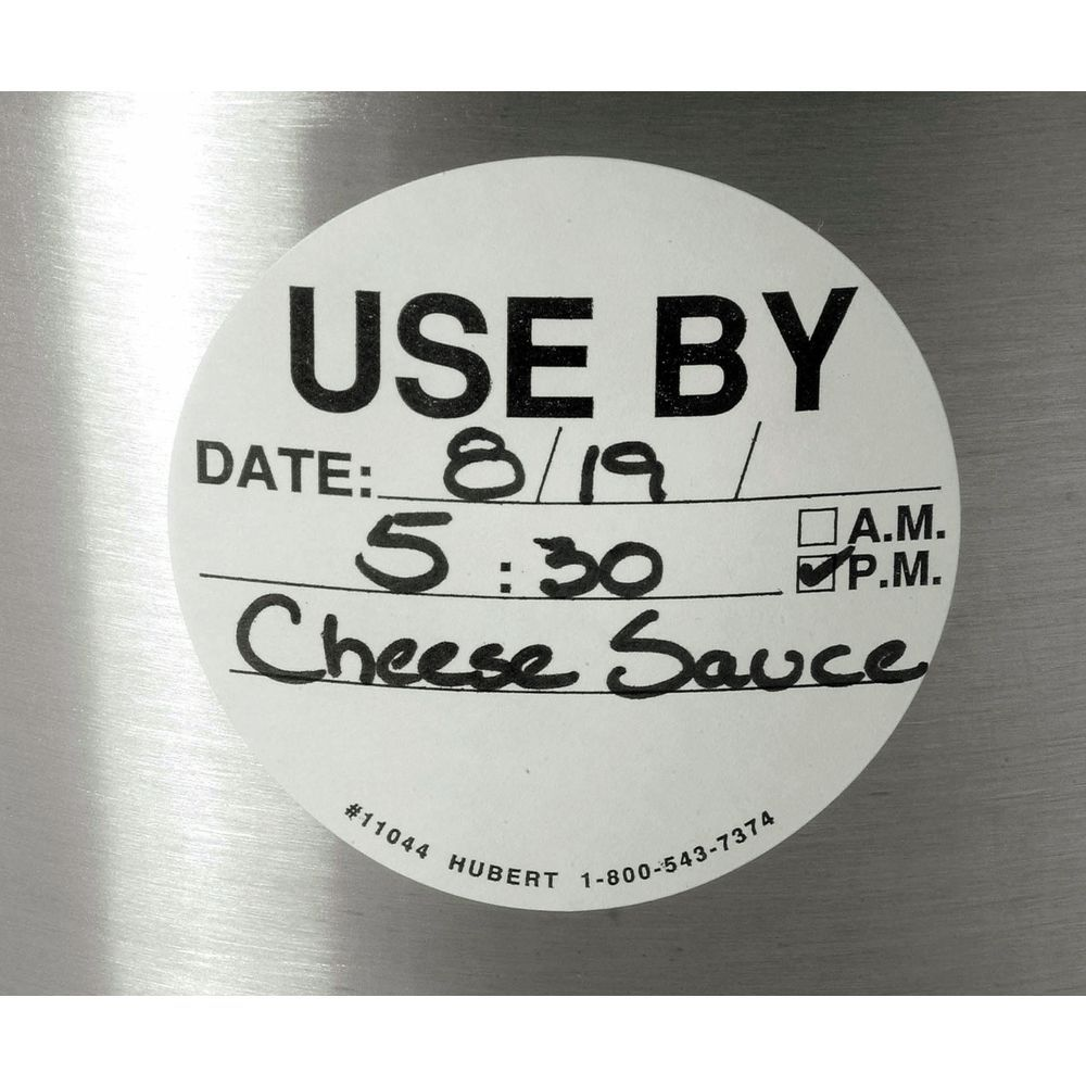 """LABEL, USE BY, 2 3/4"""", 500/RL, BLK/WHITE"""
