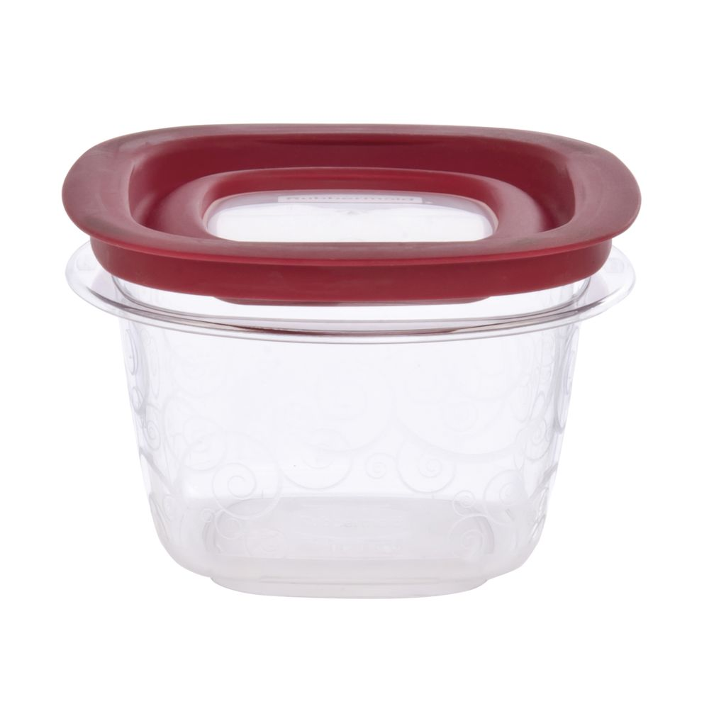 Rubbermaid 2 cup Clear Plastic Food Box With Lid - 5\