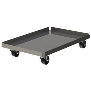 DOUGH DOLLY 1 PIECE ALUMINUM W/O BUMPER