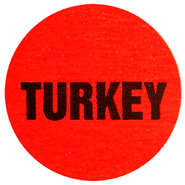 "LBL, DELI DOT, TURKEY, 1"" DIA RED"