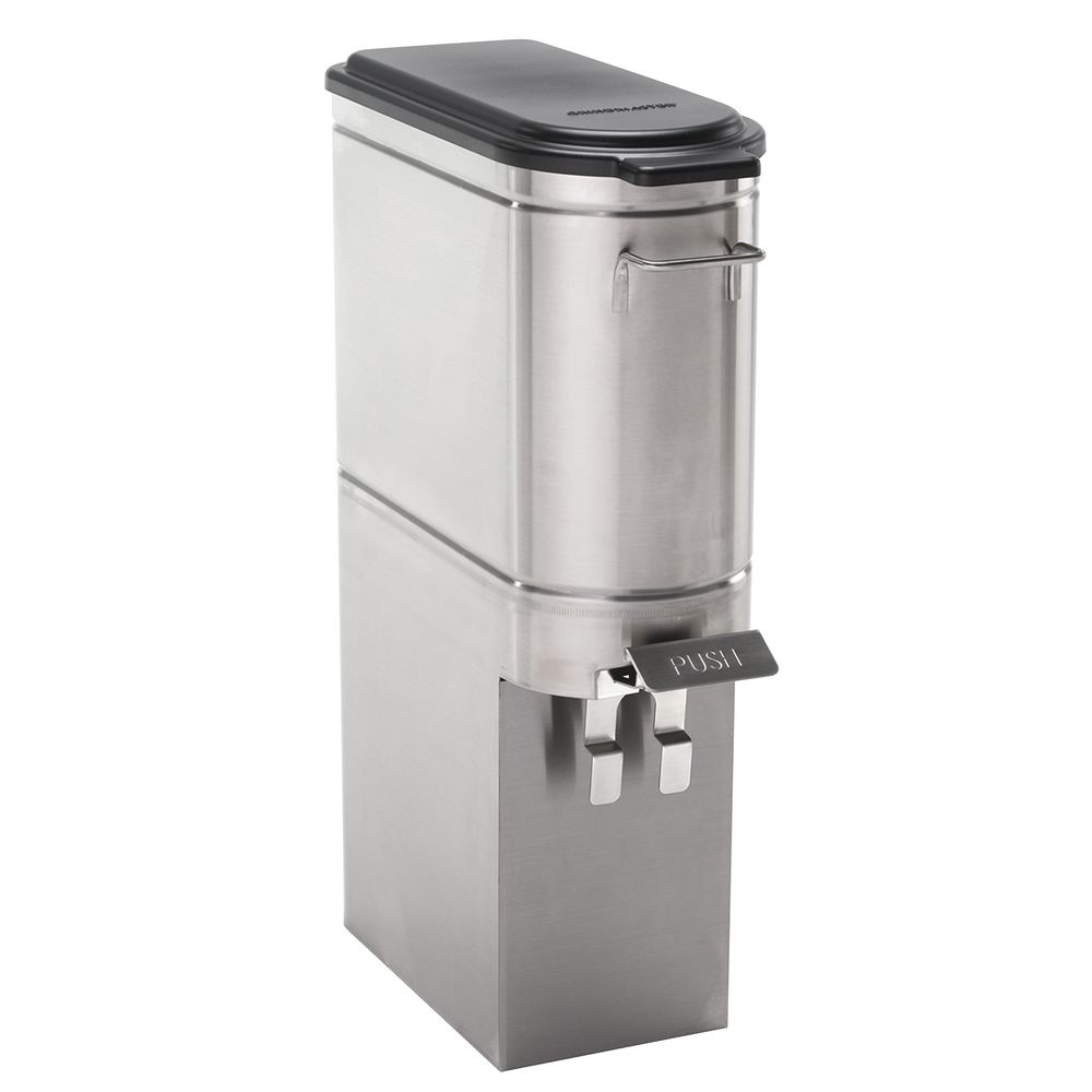 URN, TEA, STAINLESS STEEL, PUSH LEVER, 3GAL