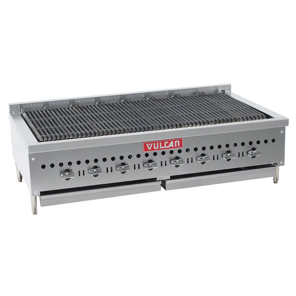 Vulcan Countertop Gas Broiler Eight Burner 48
