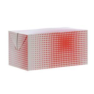 BOX, DINNER, FAST TOP, RED DOTS