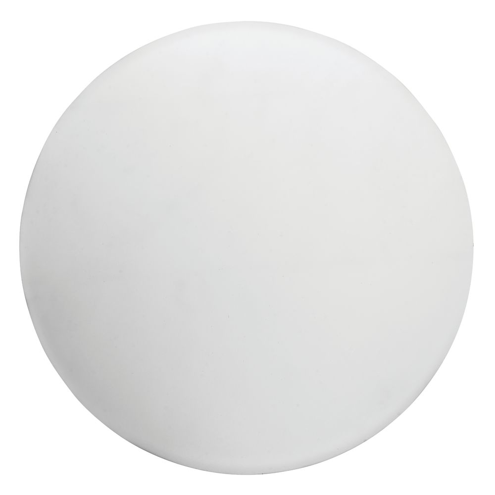 """CO TOP, 16""""ROUND CLEAR FROSTED PLASTIC"""