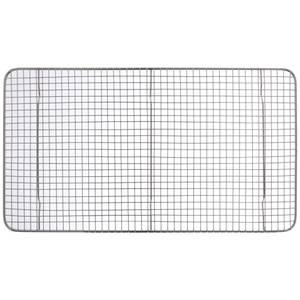 "GRATE, PAN, 10X18"", CHROME PLATE"