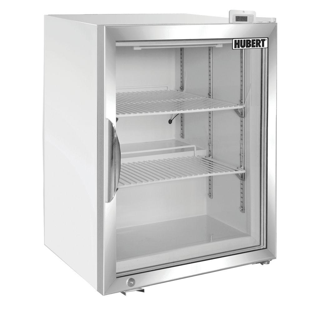Hubert 174 1 7 Cu Ft Black Countertop Merchandiser Freezer