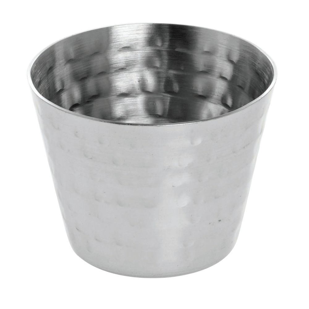 CUP, SAUCE, HAMMERED S/S, 2 OZ