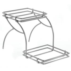 RISER, CHROME WIRE, FIT HAMRD STEEL 6X7PAN