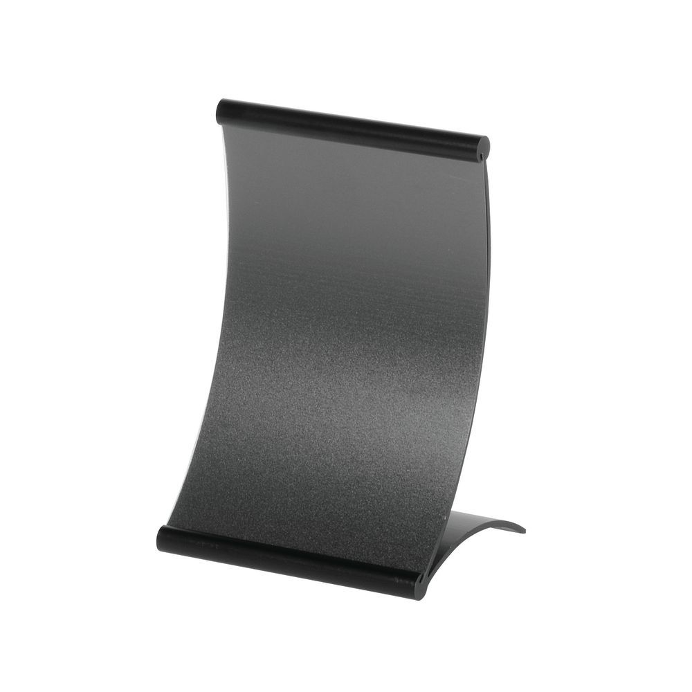 Curved Signholder for Countertop Display