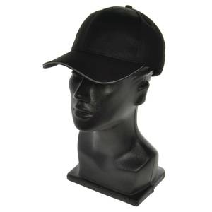 CAP, BASEBALL, W/TRIM, COOL VENT, BLACK/GREY