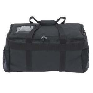 BAG, SOFT TRANSPORT, 5-6 CLAMSHELL, BLACK