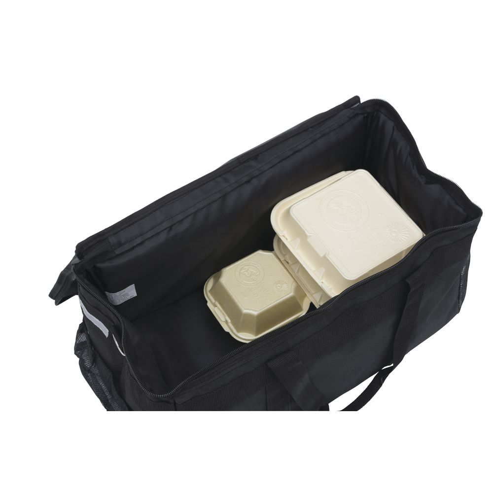 """HUBERT® Food Delivery Bag 21""""L x 10""""W x 12""""H Small"""