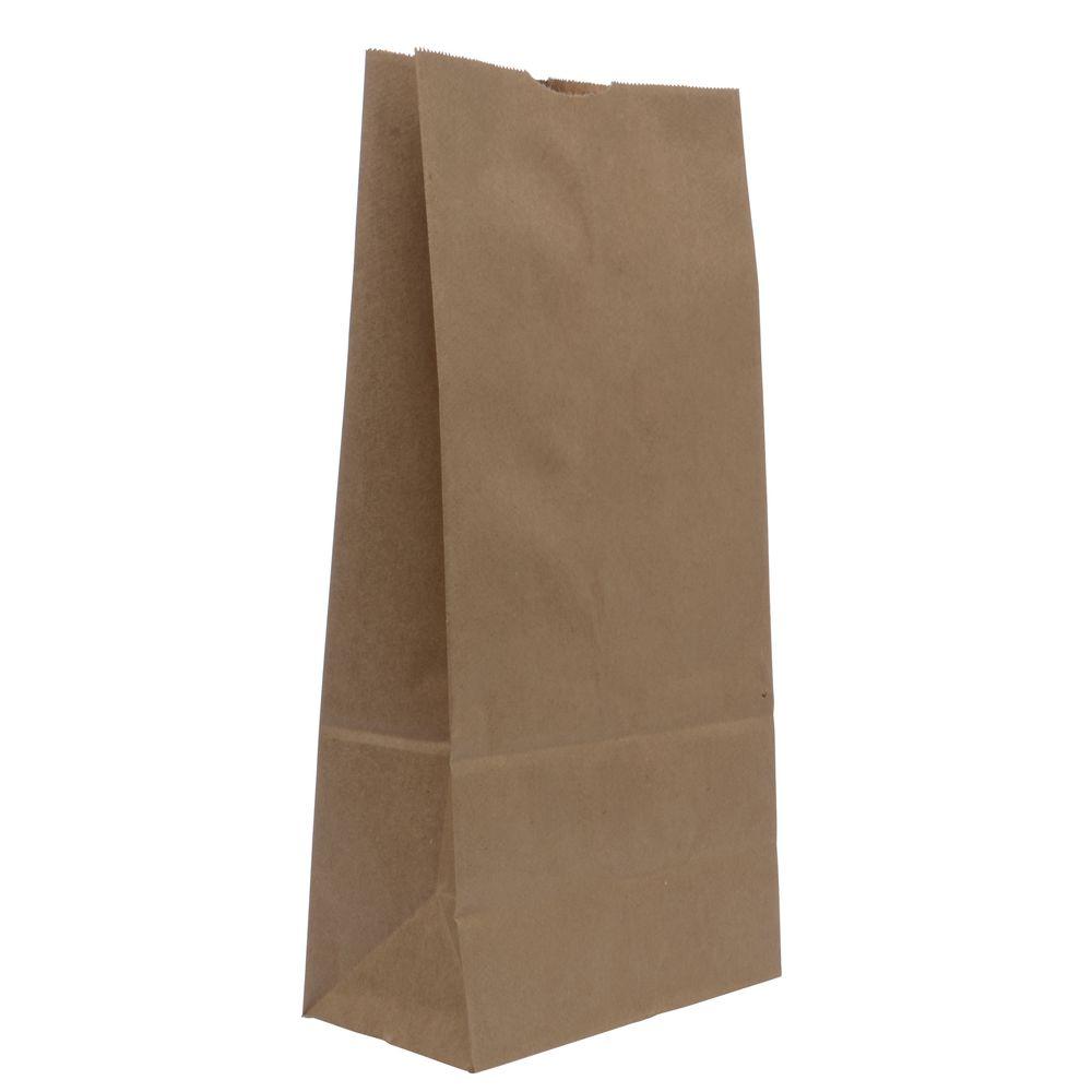 BAG, 4#, NATURAL, KRAFT