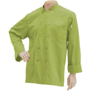 COAT, CHEF, BASIC, XL, LIME