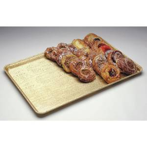 TRAY, FIBRGLAS, GOLDTEX, 12X18X1""