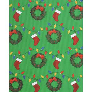 "AWNING, COROBUFF, CHRISTMAS DECOR, 24""X25'"