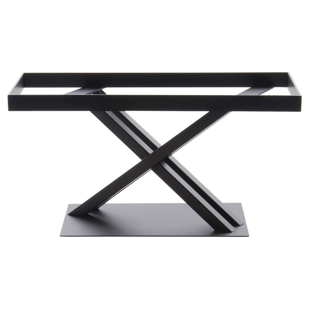 STAND, METAL, RECT, BLACK, 17.75LX7.75WX9H