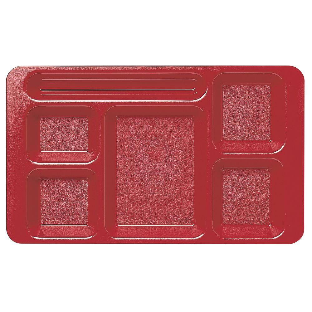 TRAY, SCHOOL, 2X2 CAMWEAR RED 9 X 15