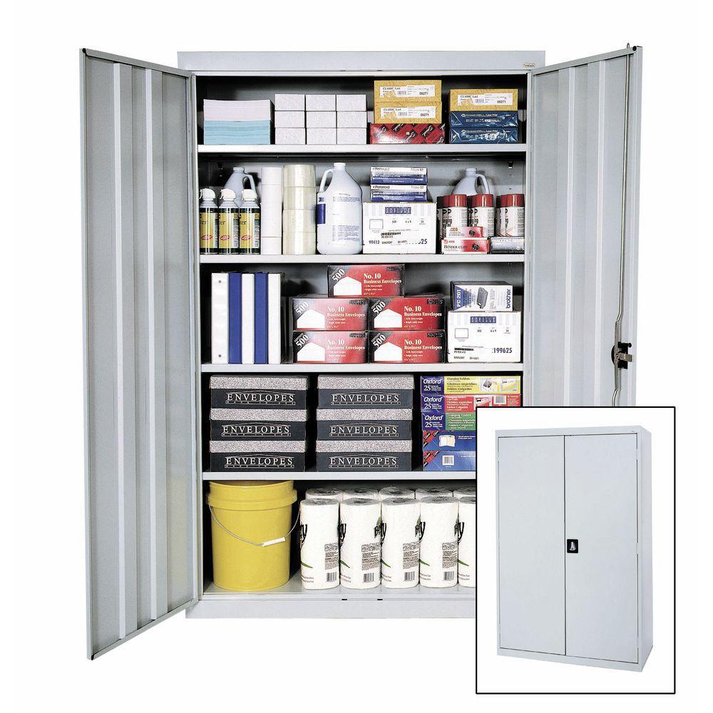 Sandusky Lee Elite Black Metal Storage Cabinet 36 Quot L X 18