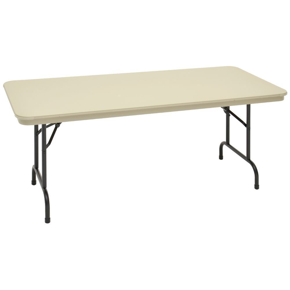 TABLE, FOLDING, SAND, DURALITE, 30X72