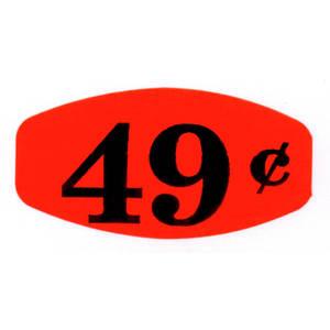 LBL, GRABBER, .49, RED/BLK, 1000/RL