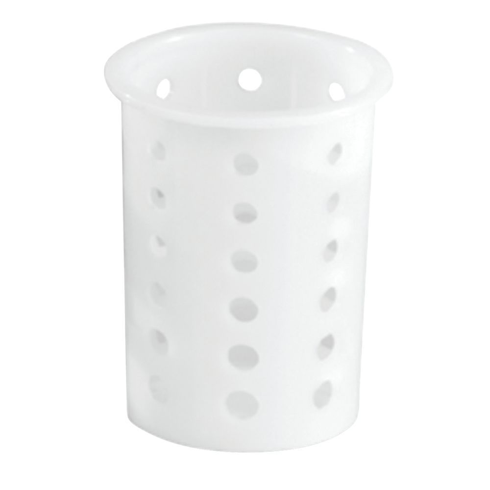 CYLINDER, PLASTIC, WHITE, FOR SILVERWARE