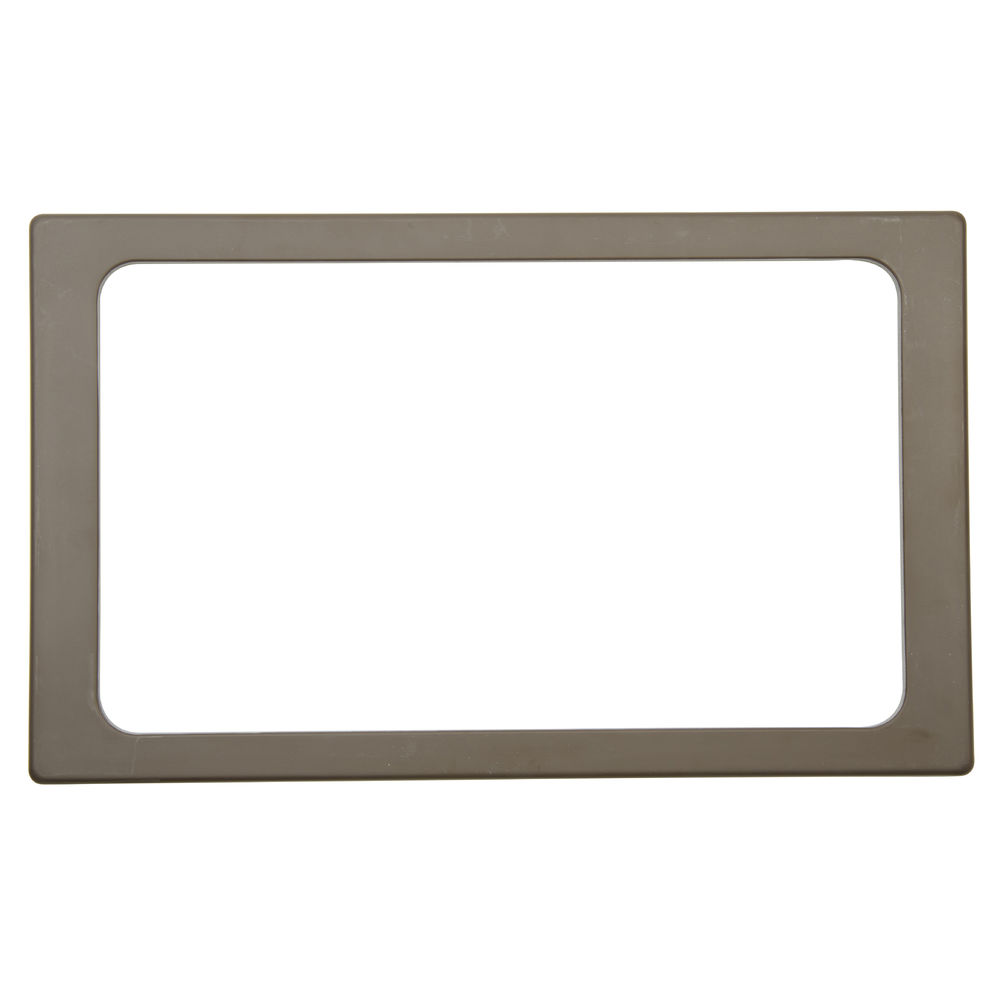 Brown Melamine Tile holds Full Size Pan