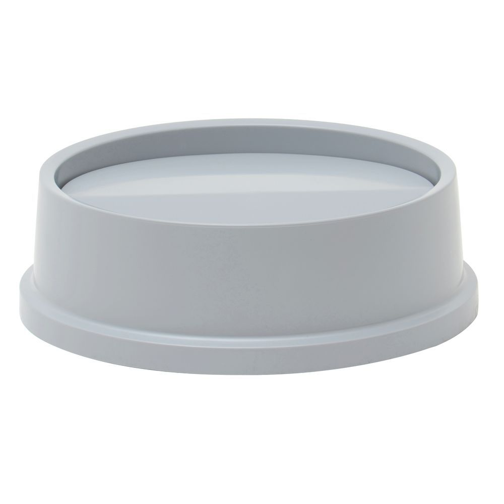 5aee208176e Rubbermaid Grey Plastic Swing Lid For 22 gal Untouchable ...