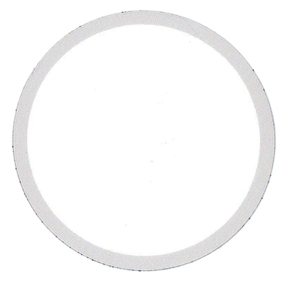 Merchandising Tag 360 Flex Temp Circle with Silver Border