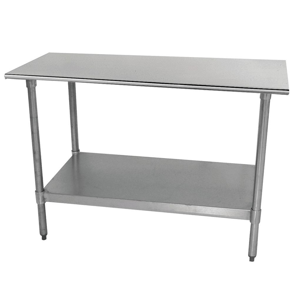 TABLE, WORK, ECON., BULLNOSE 24X24