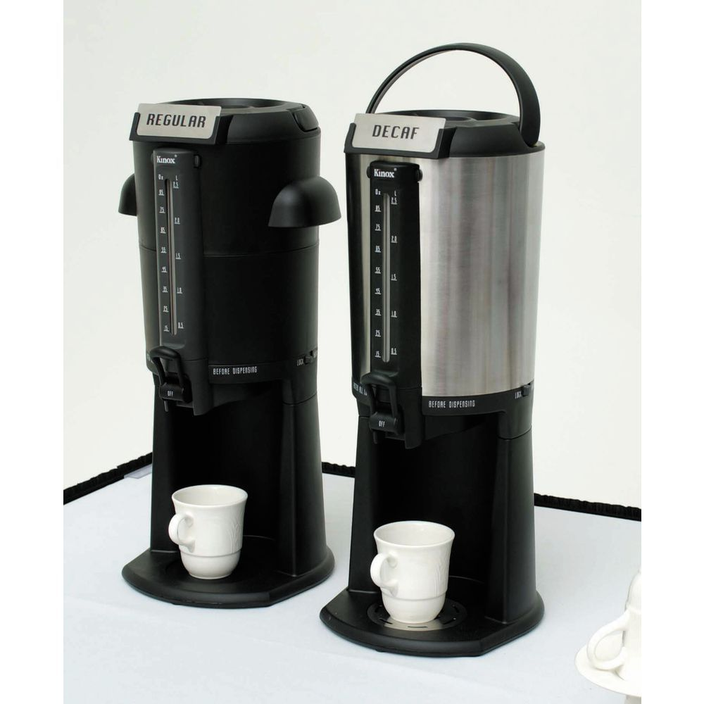 DISPENSER, BEVERAGE THERMAL BLACK, TALL BS