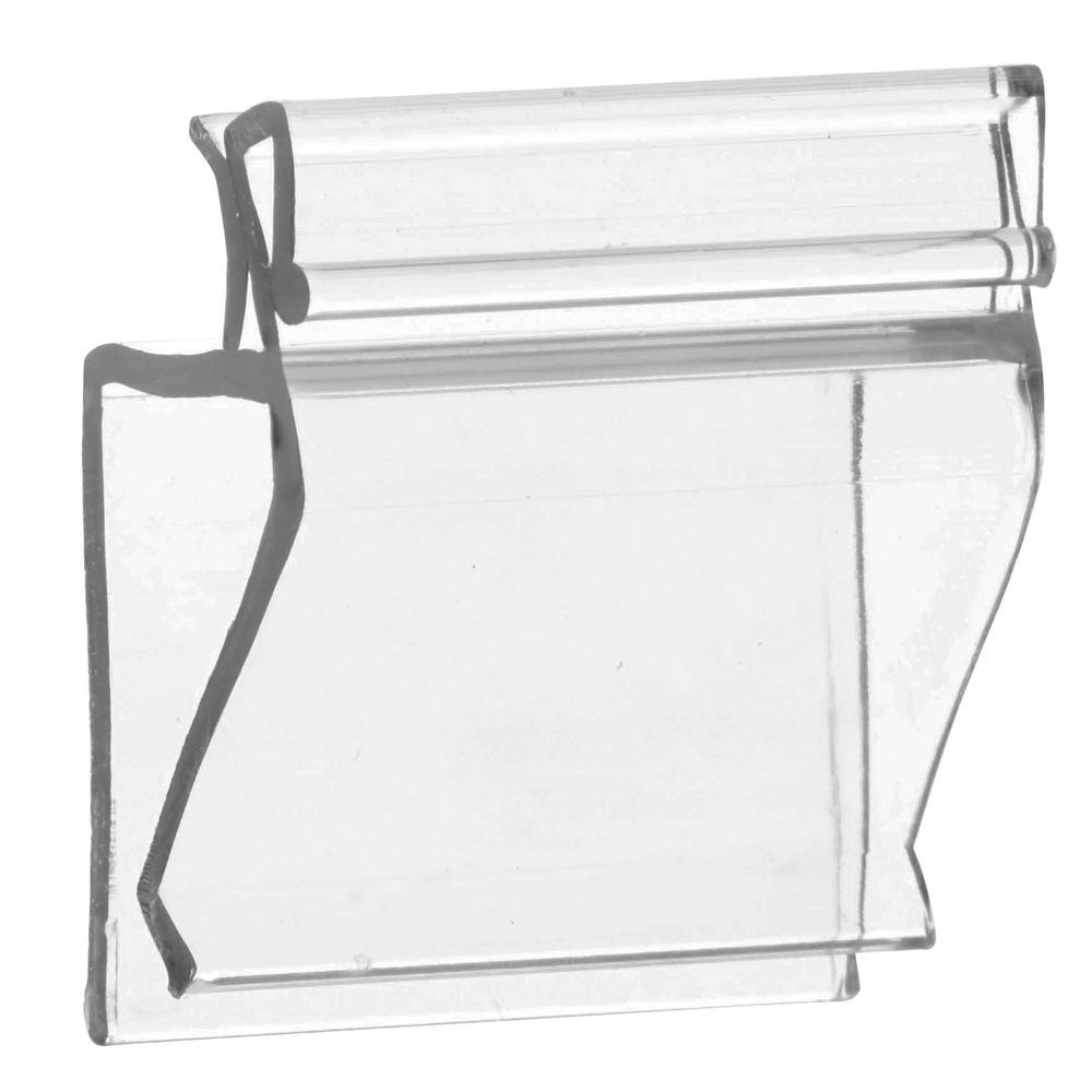 expressly hubert clear plastic 2 way sign holder 1 1 4l