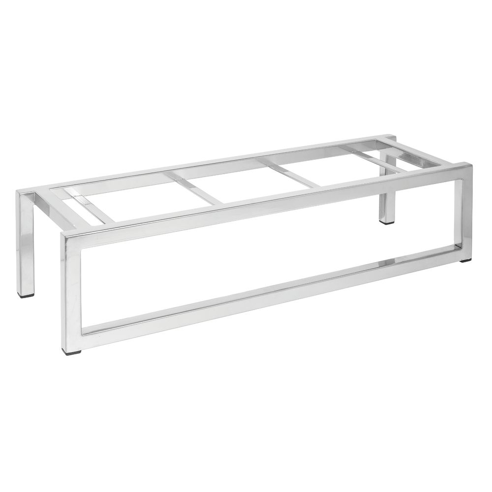 "Expressly Hubert® Display Riser Silver 6""L x 20""Wx 5 1/2""H"