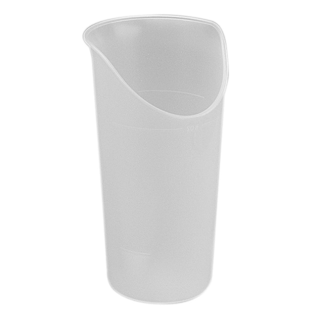 CUP, NOSEY, 8OZ, TRANSLUCENT