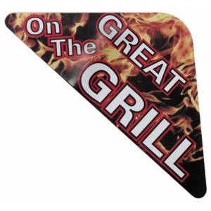 LBL, GREAT ON THE GRILL, 4 1/4 X 1 5/8""