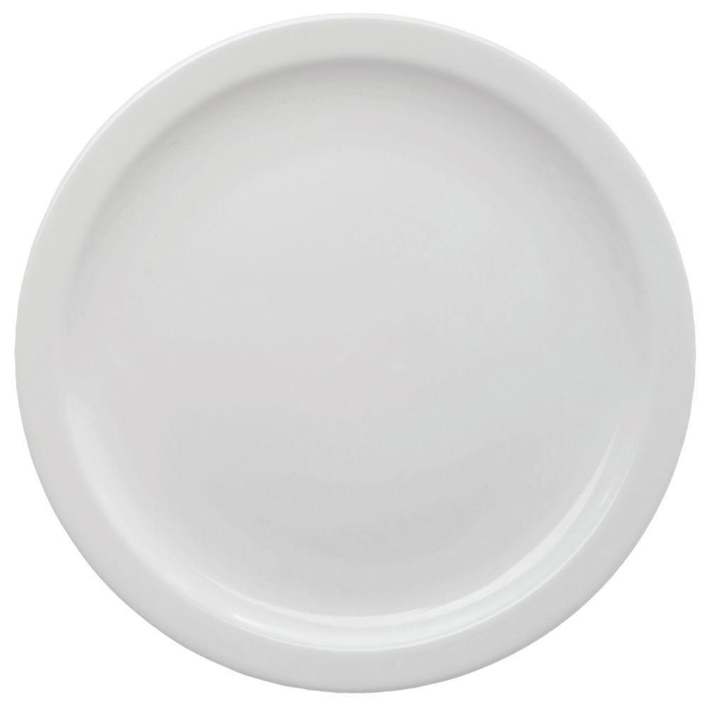 """+PLATE, STNWRE, SALAD, 7.25""""DI, NRWRM, BR WHT"""