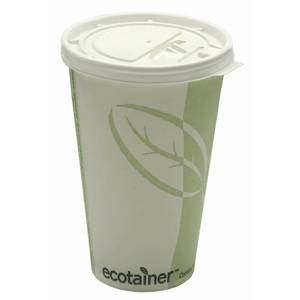 CUP, HOT, ECOTAINER, 16OZ