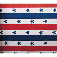 "COUNTERWRAP, PATRIOTIC STRIPE 48""X25'"