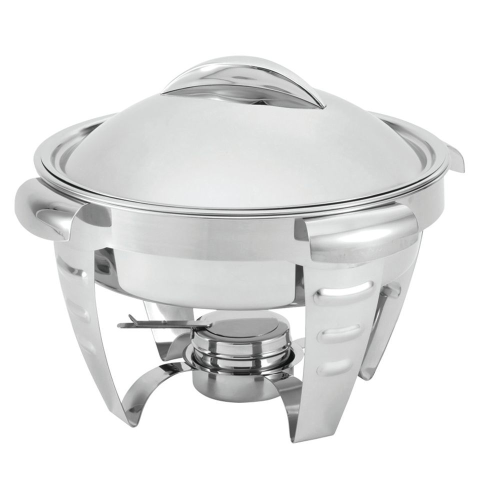 Round Chafing Dish with Removable Dome Cover