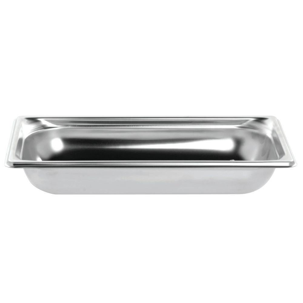 "Vollrath® Super Pan 3® Stainless Steel Pan 1/3 Size 2""D"