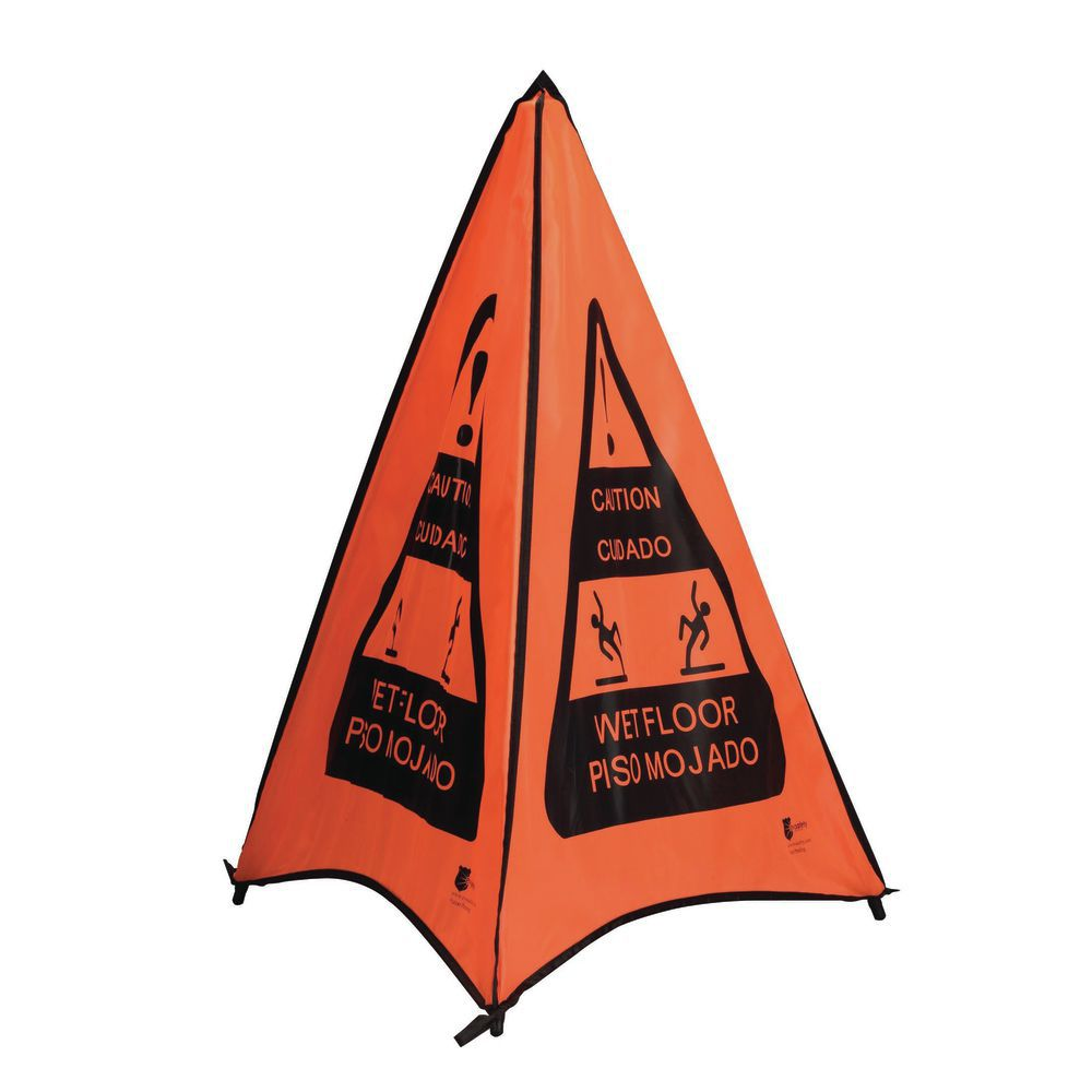 CONE, SAFETY, ORANGE, BILINGUAL, 32""